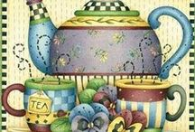 Tea Time: Art, signs, sayings / by Judy P Brannon