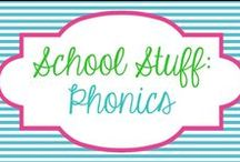 School - Phonics / by Molly - Lucky to Be in First