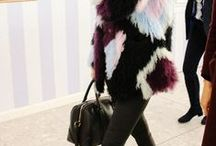 Fur Is In The Air / Fall 2013 fur trends.