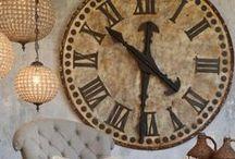 Clocks / by Carolyn Beam
