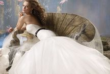 Wedding Love: Gowns / Gowns and dresses for the bride or seen on brides / by Kate Morten