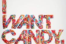 """"""" I WANT CANDY"""" - ALL IS FUN IN CANDYLAND / Welcome to the color filled world of CANDY -  makes you smile like a Kid in a Candy Store"""" :)  only look for Candy Corn, peppermints and candy canes on their own board Enjoy  / by Judy P Brannon"""