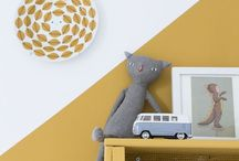 + Babykamer geel + / Nursery inspiration yellow | Baby nursery | Kidsroom styling | Babykamer inspiratie geel