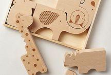 + Houten speelgoed +