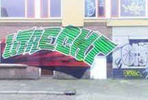 Utrecht Ondiep Graffiti / Houses on demolition death row turned in graffiti paradise