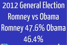 USA Election 2012 / General Election 2012 - Romney vs Obama - Updated hourly with latest Tweets and Pools