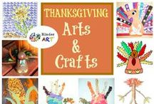 Thanksgiving Arts & Crafts for Kids / Thanksgiving Arts & Crafts for Kids / by KinderArt.com