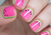Nail art / Inspiration for future nail designs.  / by Maria Garcia