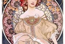 Mucha en art nouveau / by Albertine Roozendaal