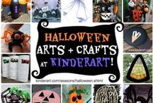 Halloween Arts & Crafts for Kids / Halloween Arts & Crafts for Kids / by KinderArt.com