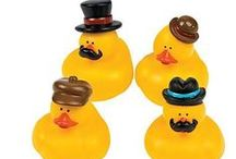 Ducky party ideas! / Everyone loves ducks! For ducky party supplies that are Just Ducky, check out our quacky goodies - we have Duck Tableware, Pinatas, novelty themed novelty Rubber Duckies, Autograph Duckies, Balloons, Games, Stickers, Loot Boxes, Favors and more!
