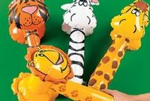 Inflatable toys and party supplies / All the Inflatable party supplies you could wish for!