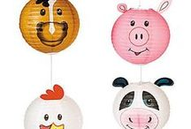 Cows! / For all cow party supplies!  Have a barnyard or cow farm party!