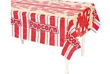Movie Night Fun! /  Everyone loves movies so have a Movie Night Party! It's so easy to decorate with just a few  movie party decorations. Walk the red carpet with  our Movie Night Red Aisle Runner. Have a photo taken with our Movie Night Photo Door Banner!  Here  is everything from clapboards , movie night tableware to popcorn bags, invitations and fun shaped bands.  What more do you need for a fabulous night of fun! Have a DVD night & treat your guests like stars at your Movie Night Party