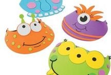 Monsters! /  Fancy a Monster themed party? Are they monsters? Are they aliens? These cute scary but loveable monsters occupy everything from games to filled loot bags and novelties. Find all things 'Monster' right here!