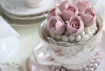 tea party / una bacheca che da spunto per organizzare un party o un pomeriggio del tutto originale in cui il protagonista è il tea