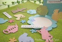 Handmadecards(R*piece) / ハンドメイドカードR*piece(れいんぼーぴーす)作品集 handmade pop-up cards  http://rpiece-card.com/