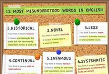 Reading/Writing/Speaking / Expand your Vocabulary! Write the perfect Essay! Make sure you are speaking properly!