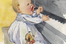 Children´s book, Illustrations, Vintage pictures