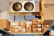 Walk-In Cooler Shelving / How do you organize the stock in your walk-in coolers and freezers?
