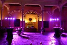 PURPLERAIN / Tonos de iluminación violeta para tu evento musical