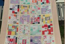 Baby clothes and t-shirt quilt