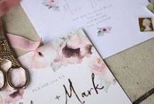 Invitation and Stationary Inspiration / Give your guest's a great first impression through your invitations!