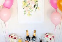 Bridal Shower / Your big day is approaching... you deserve to celebrate! Check out some fun ideas to help celebrate with your friends.