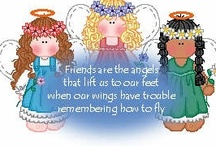 ANGELS / I LOVE ANGELS  / by Denise Platt