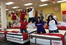 #MFRMlife / A whole collection of things Mattress Firm related that we love.