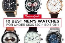 Citizen Eco-Drive Watches for Men / Check out our handsome models with Citizen Eco-Drive technology for men!