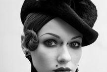 Les vieux chapeaux! / Les Bibis, Fascinators, Haut de forme et tout ce qui couvre la tête...! / by Isabelle Masse