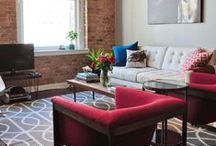 Living spaces / Inspirational ideas to create a warm and inviting living space