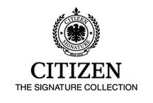 Citizen Signature Collection / It takes highly accomplished watchmakers to build legendary timepieces.