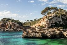 Mallorca / The upscale island of The Mediterraneo. Crystal waters, unspoilt national parks, caves, local food markets, country hotels, olive trees, fresh fish, amazing restaurants.