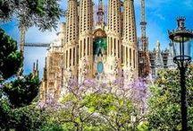 Barcelona / Vibrant Mediterranean City. Full of flavour. Cosmopolitan. Sea, Fish, Pan Tumaca, Shopping, Walking, Sea Breeze.
