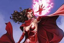Scarlet Witch / Scarlet Witch marvel, cómic art
