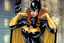 Bat girl / Bat girl comic art