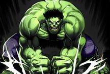The Hulk / Hulk comic art