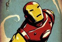 Iron Man / Iron Man cómic art