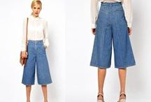 Trend Alert: Culottes / The freedom of pants, the femininity of skirts! Acing the trend like a boss.