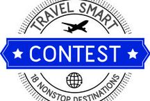Travel Smart with TUS Contest / With 18 nonstop destinations to hundreds of locations around the world you can get there from here. Travel Smart. Travel TUS.