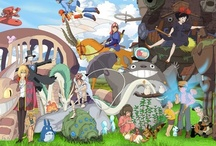 Everything Ghibli! / Hayao Miyazaki. / by Alessandra Tanase