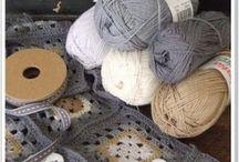 Knitting & crochet / by Elize B