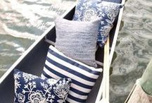 Blue and White Decorating / I love this color combination / by Julie Signor