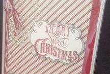 CTMH Christmas Guide Ideas / Close to my Heart Christmas Projects. Close to my Heart Warm Holiday wishes from the heart