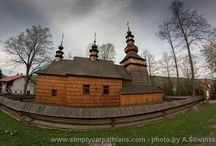 Wooden Architecture / Picturesque Catholic and Orthodox churches, roadside chapels, beautiful villas and manor houses, rural cottages with outbuildings, interesting open-air museums and many others. Some are geathered along special trail called the Wooden Architecture Route.