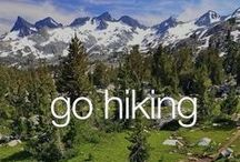 Hiking is what we love / Hiking in the Carpathians is our great passion.