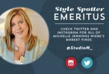 Michelle Jennings Wiebe / Specializing in sophisticated luxury new construction interiors, Michelle Jennings Wiebe is the 2013 two-time Style Spotter winner. Beyond her role as president of the national interior design firm, Studio M, Michelle serves on the Board of Interior Design at Florida State University, speaks on design and social media, and is editor of m}pressions, the Studio M design blog. interiorsbystudiom.com | twitter.com/studiom_