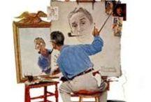 Norman Rockwell / Illustrationist / by Joanne Dorsey